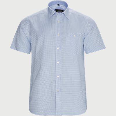 Marco Kortærmet Skjorte Regular | Marco Kortærmet Skjorte | Blå